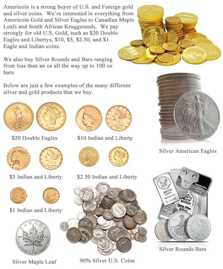 Americoin Gold and Silver